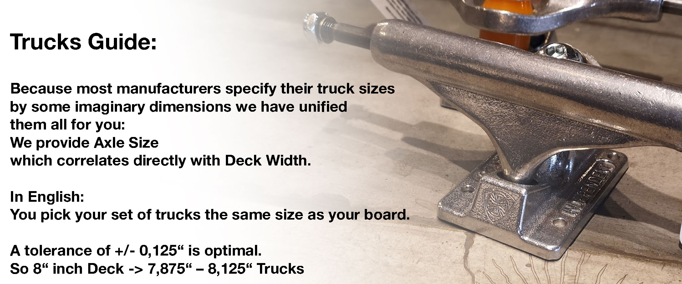 Trucks Guide Englisch