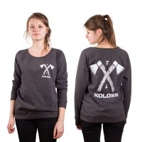 KOLOSS Axt Girl Sweater Dark Heather
