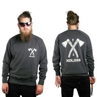 KOLOSS Axt Sweater Dark Heather L