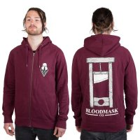 BLOODMASK Guillotine Zipper Burgundy