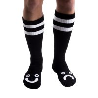 Polar Happy/Sad Socken Black