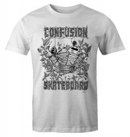 Confusion Spider Web Bowl T-Shirt White L