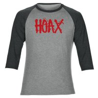 Hoax Splat Raglan Grey