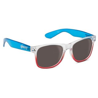 Glassy Nü Clear Blue/Red