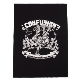 Confusion Pool Skeleton Backpatch Black