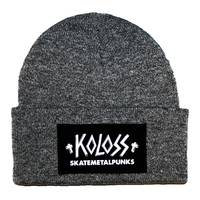 Skatemetalpunks Beanie Grey White