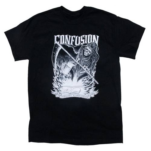 Grim Reaper T-Shirt Black