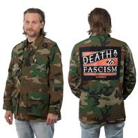 BLOODMASK Death to Fascism Jacket Camo