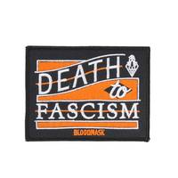 BLOODMASK Death to Fascism gestickter Patch