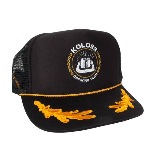 KOLOSS Drinking Team Truckercap Black