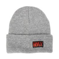 Hoax Splat Beanie Grey White
