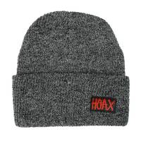 Hoax Splat Beanie Grey Black