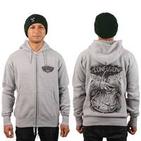 Confusion Crazy Nature Zipper Grey