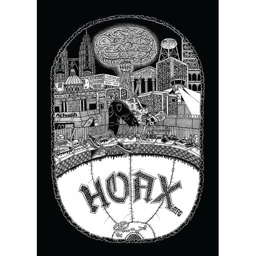 Hoax Armageddon Backpatch Black