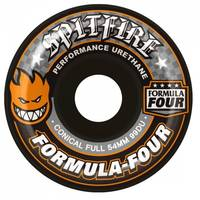 Spitfire Formular Four Conical Full 99A Black/Orange 54mm
