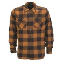 Dickies Sacramento Flannelhemd Brown Duck