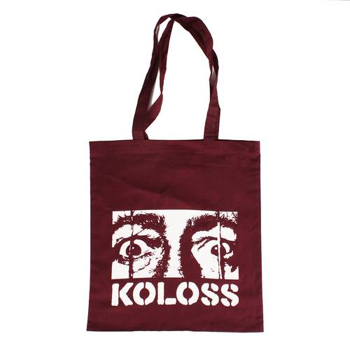KOLOSS Dali Eyes Tote Bag Crimson