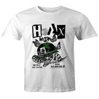 Hoax Destroy the System T-Shirt White M