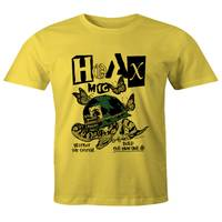 Hoax Destroy the System T-Shirt Yellow