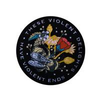 WSDT Violent Delights gestickter Patch bunt