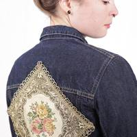 R.I.P. Golden Girl - RIP Jeansjacke mit Applikation