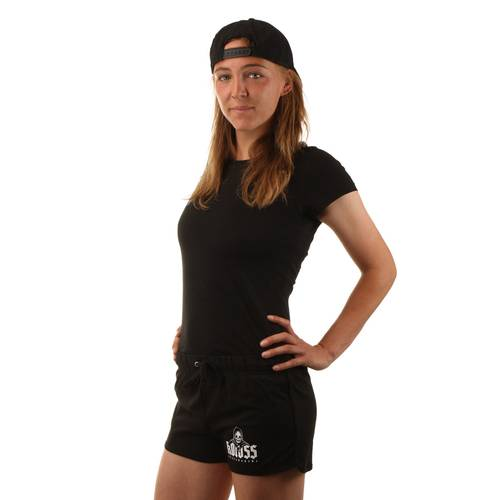 Ripper Girl Shorts Black / Black