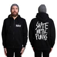 SkateMetalPunks Zipper