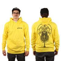 Witchcraft  Goatwitch Hoodie Yellow