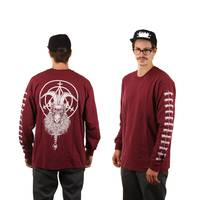 Witchcraft Goatwitch Longsleeve Burgundy