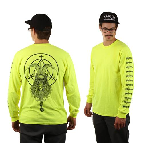 Witchcraft  Goatwitch Longsleeve Neon Yellow
