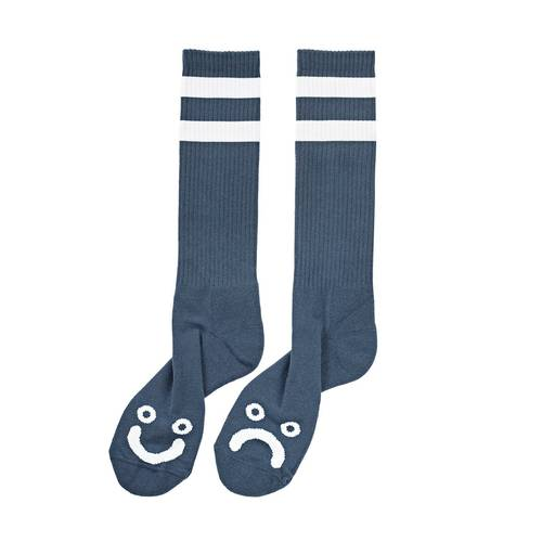 Polar Happy/Sad Socken Captain´s Blue