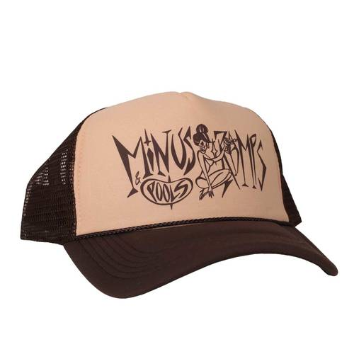 Minus Ramps Pools Trucker Cap Brown