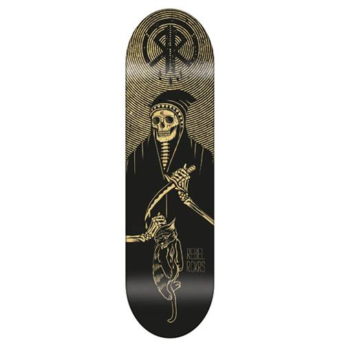 Rebel Rockers Chat Noir Deck 8,375 Yellow