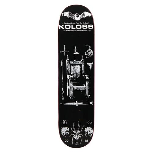 KOLOSS X Branca Studio Electric Deck