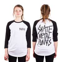 KOLOSS SkateMetalPunks Girls Raglan