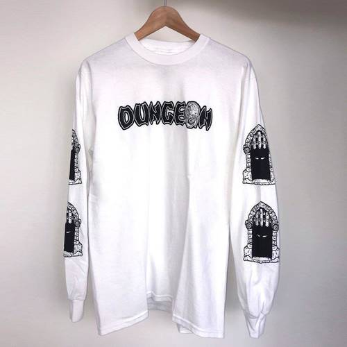 Dungeon Gate Repulse Longsleeve White