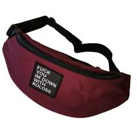 Down Hip Bag Blood Red