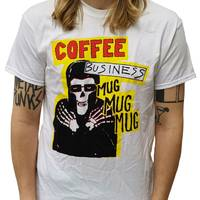 Coffee Business T-Shirt White