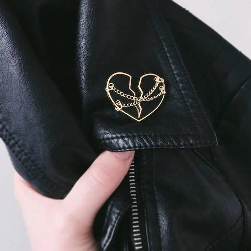 Heart in Chains Hard Enamel Pin