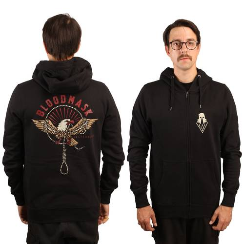 Eagle Hooded Zipper