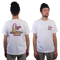 Kotze Flamingo T-Shirt White