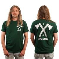Axt T-Shirt Bottle Green L