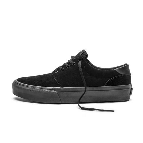 Fairfax Black/Black Suede