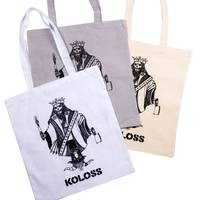 KOLOSS King Of Kings Tote Bag White