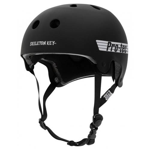 Pro-Tec Skeleton Key Helmet Black/White L