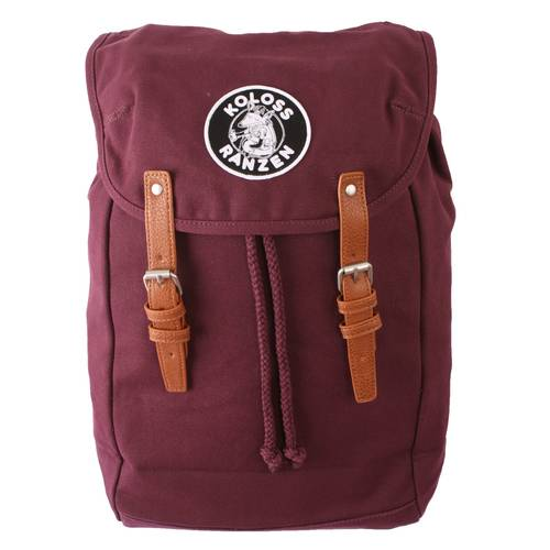 Gammler Canvas Backpack Crimson