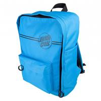 Opus Dot Stripes Backpack Cyan Blue