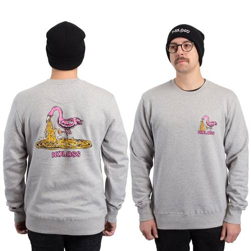 Kotze Flamingo Sweater Heather Grey