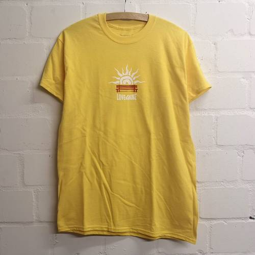Lust For Curbs T-Shirt Yellow