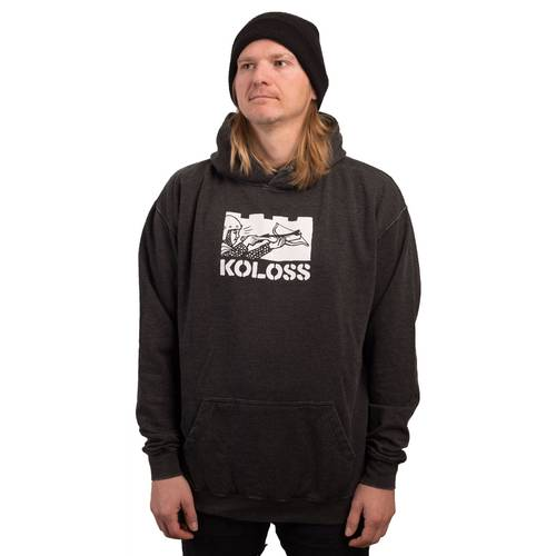 Switch Crossbow Hoodie Washed Black